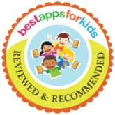 Reviewed and recommended by Best Apps for Kids.com